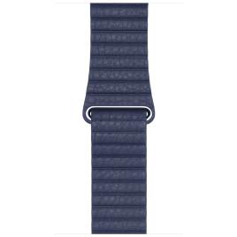 Apple Watch 42mm Leather Loop - Midnight Blue Medium