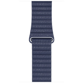 Apple Watch 42mm Leather Loop - Midnight Blue Large