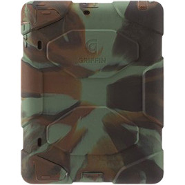 Griffin Survivor All-Terrain Case with Stand for Apple iPad - Hunter Camo Black