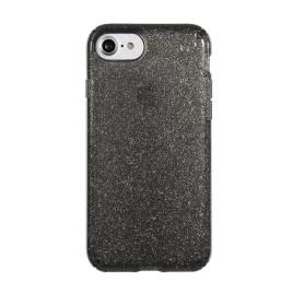 Speck Presidio Clear Glitter Case - iPhone 7 - Onyx Black