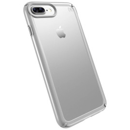 Speck Presidio Show - iPhone 7 Plus - Clear/Sterling Silver