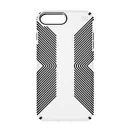 Speck Plus Presidio Grip Case for iPhone 8/7/6S/6 - White/Black