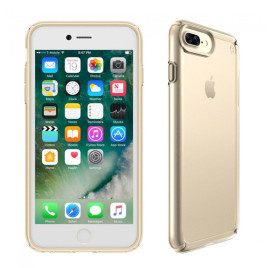 Speck iPhone 7 Plus Presidio Show Clear/Pale Yellow Gold