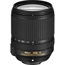 Nikon AF-S DX NIKKOR 18-140mm f/3.5-5.6G ED VR Lens, Kit Filter UV-CPL-FLD