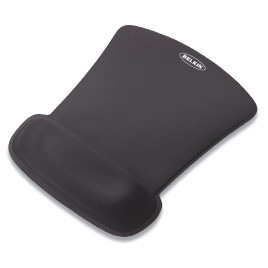Belkin WaveRest Gel Mouse Pad - Black