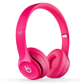 Beats Solo 2.0 On-Ear Headphones (Pink)