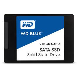 """Western Digital 2TB Blue 3D NAND SATA III 2.5"""" Internal SSD"""