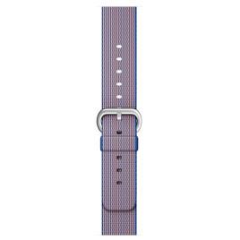 Apple Watch 42mm Woven Nylon Band - Royal Blue