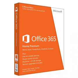 Microsoft Office 365 Home Premium - Medialess