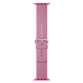 Apple Watch 38mm Woven Nylon Band - Pink