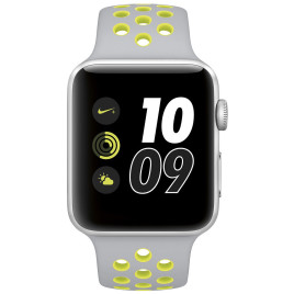 Apple Watch S2 Nike+ 42mm Silver Aluminum Case Cool Gray/Volt Nike Sport Band
