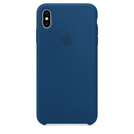 Apple iPhone XS Max Silicone Case - Blue Horizon