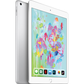 "Apple iPad 9.7"" (2018) 128GB Wi-Fi + Cell - Silver"