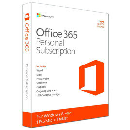 Microsoft Office 365 Personal ENG Medialess