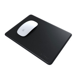 Satechi Eco-Leather Mouse Pad with Non-slip Rubber Base - Black