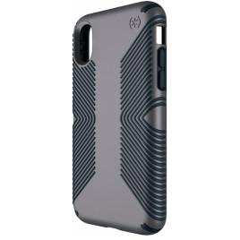 Speck iPhone X Presidio Grip - Graphite Grey/Charcoal Grey