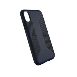 Speck iPhone X Presidio Grip - Eclipse Blue/Carbon Black