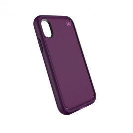 Speck Presidio Ultra para iPhone X - Mangosteen Purple/Hibiscus Pink/Eggplant Purple