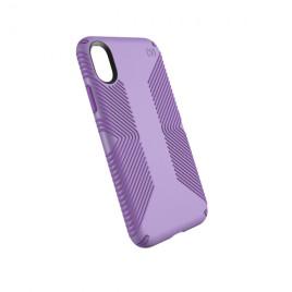 Speck Presidio Grip para iPhone X - Aster Purple/Heliotrope Purple