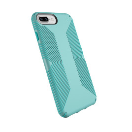 Speck Presidio Grip para iPhone 8 Plus/7 Plus/6 Plus/6S Plus - Surf Teal/Mykonos Blue