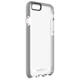 Tech21 Evo Mesh Case - iPhone 6/6s - Clear/Grey